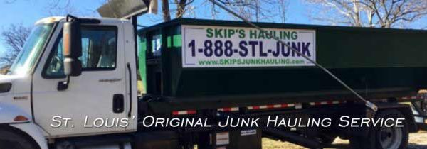 junk removal, St. Louis' Original Junk Removal… Skip's Junk Hauling Service
