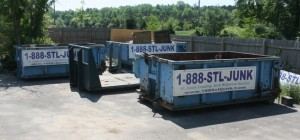 Dumpster rentals for a quick clean out