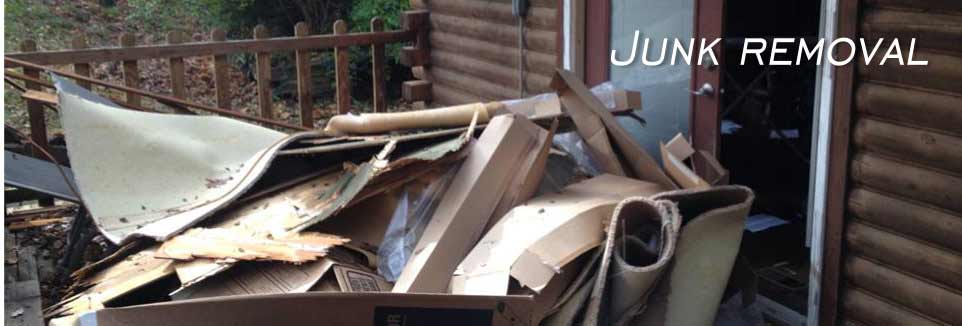 Junk, One Stop Shop For Junk Removal,Excavation & Demolition